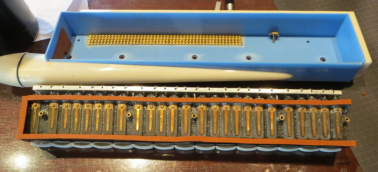 Chordiana (same instrument as the Pinocchio Pianino) with new gaskets.
